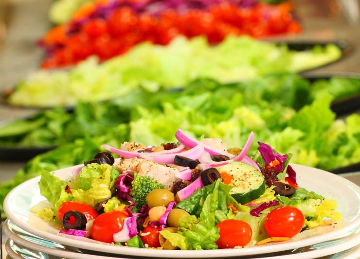 Pin by Julie Arney on Healthy Pinterest Salad, Recipes and Salad bar