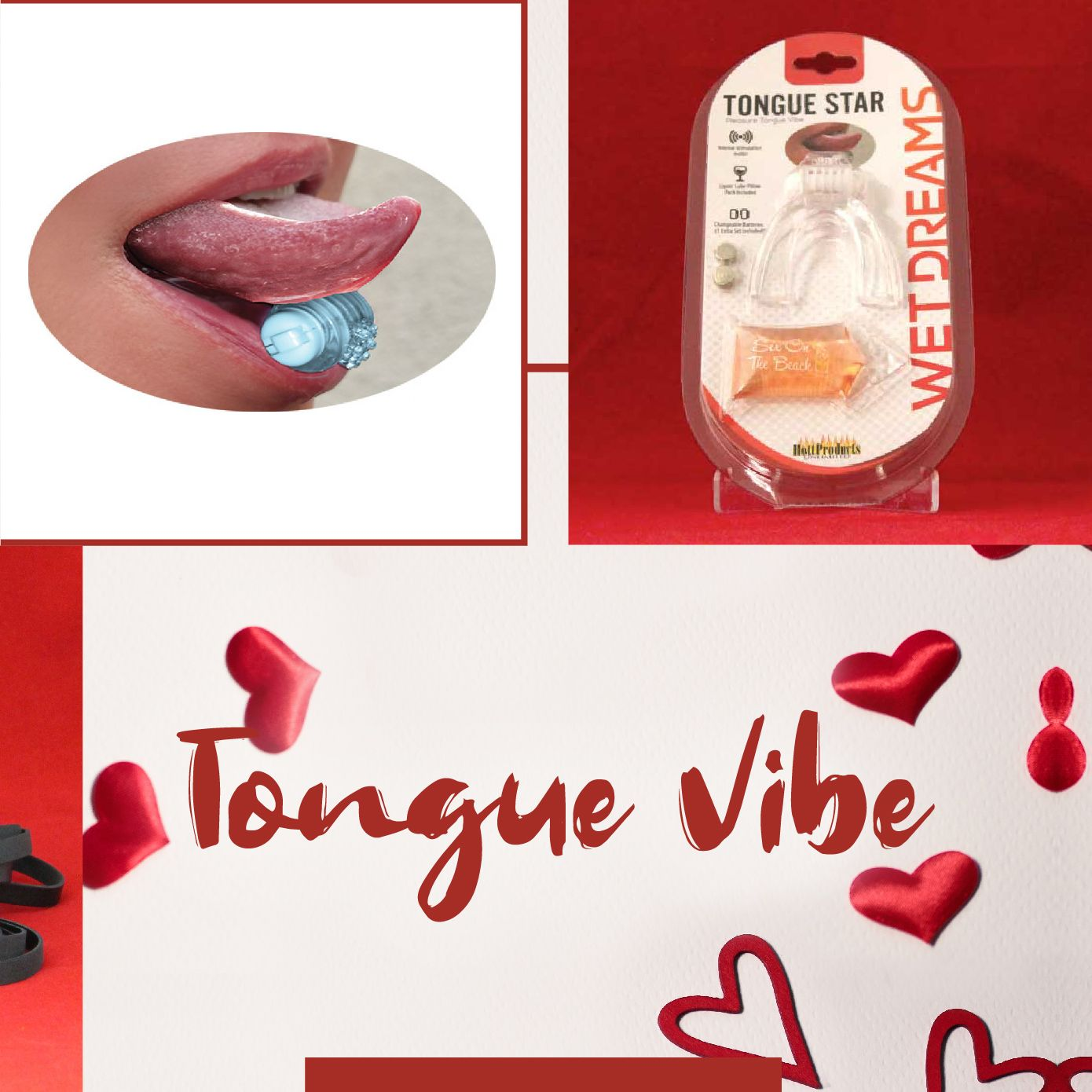 Day 5 of 7 Things Sweeter Than Candy: Pleasure Tongue Vibe by Hott Products.