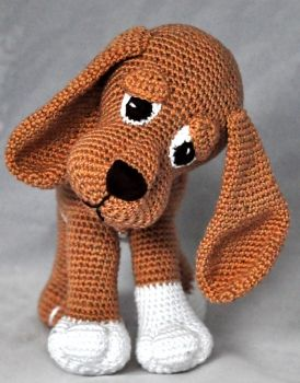 Photo of Crochet Pattern, DIY – Dog Amelie – Ebook, PDF