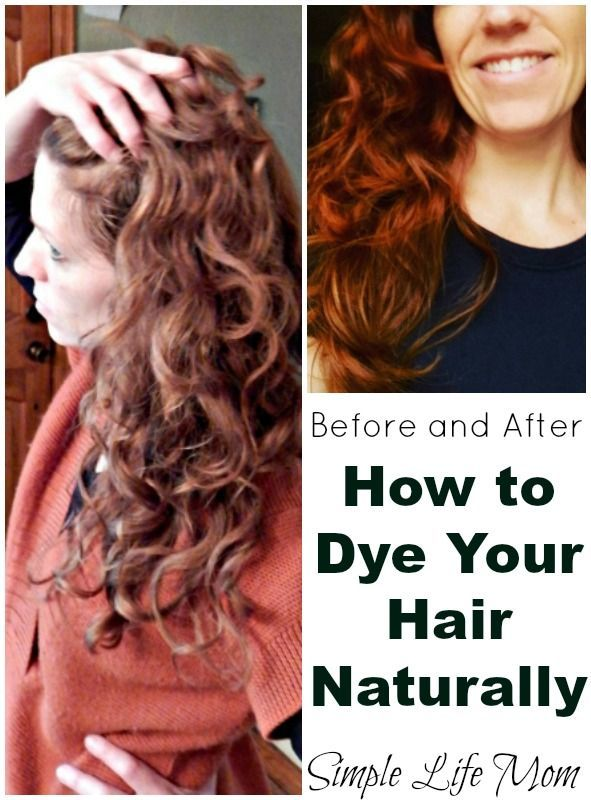 How To Dye Your Hair Naturally Step By Step Recipe Bath Beauty