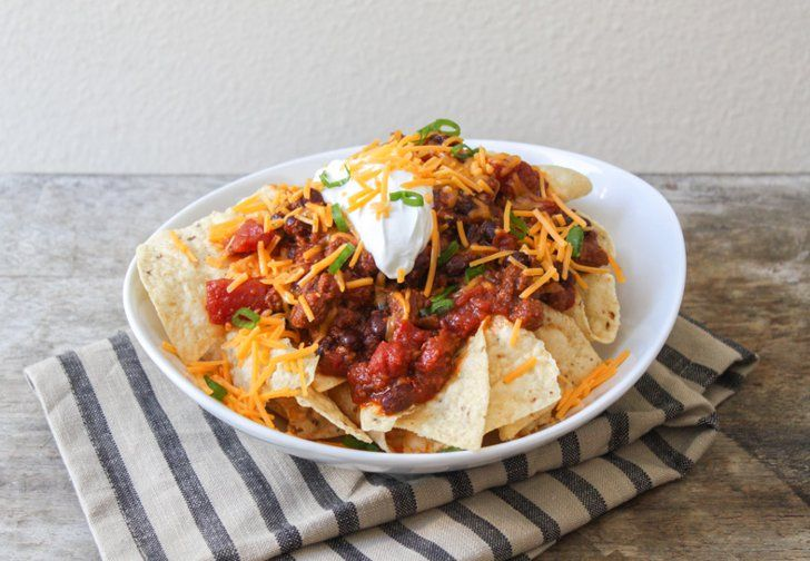 Pin for Later: 15 Delicious Chili Recipes That Will Keep the Whole Family Full Slow-Cooker Taco Chili Upgrade taco night with this slow-cooker taco chili recipe.