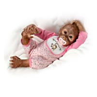 Interaktive Affenbaby Puppe Der Kunstlerin Melissa Mccrory Affen