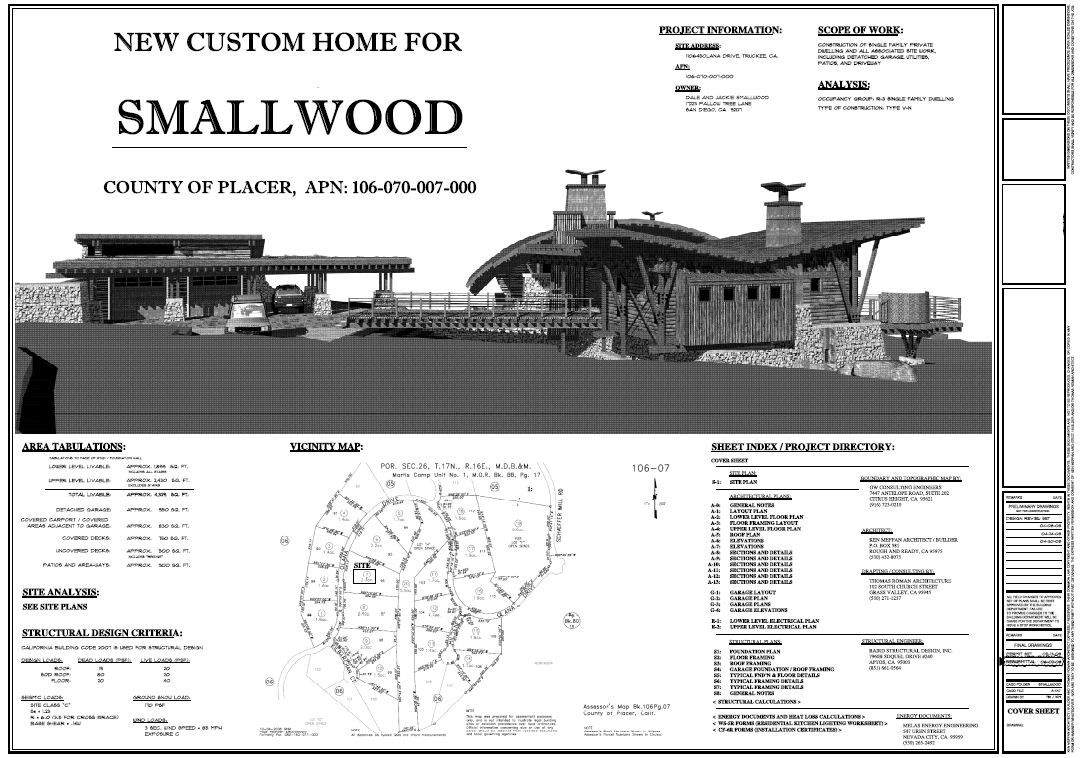 Architecture Design House Drawing Smallwood architectural