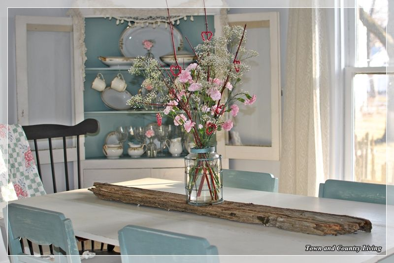 duck egg dining room table   Dining Room Updates