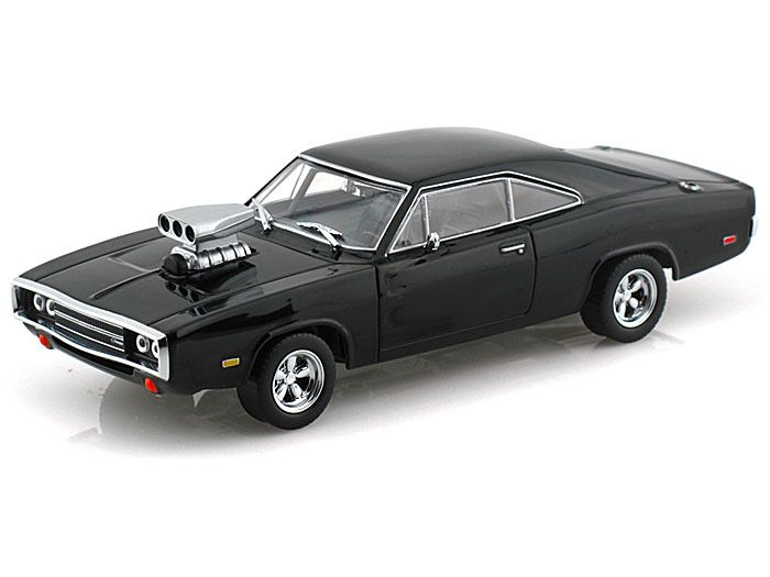Dodge Charger With Blown Engine Diecast Model Car From The Fast