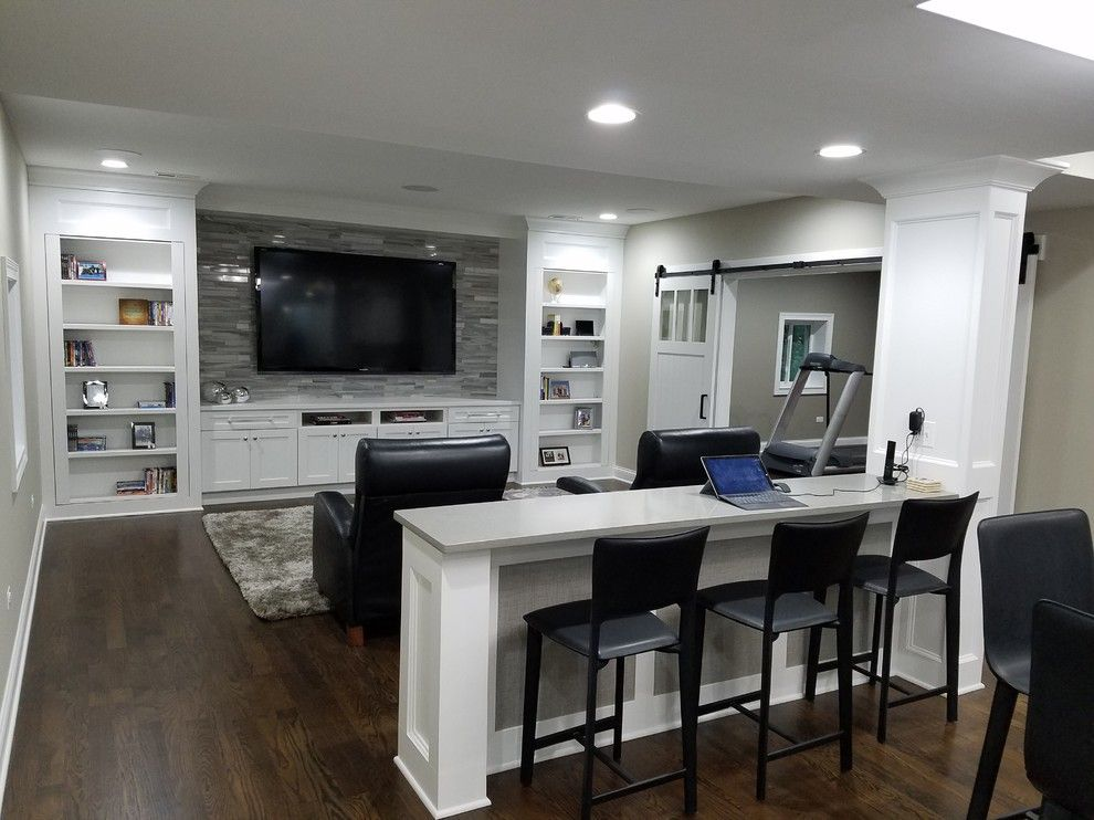 27 Perfectly Captivating Basement Design Ideas
