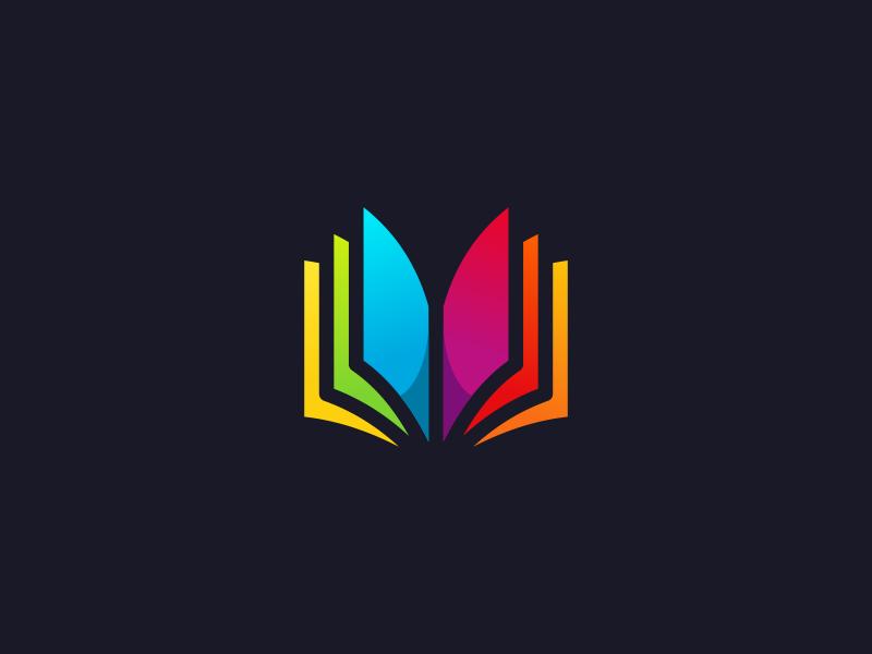 Book Logo Design Education Logo Design Book Logo Modern Logo Design Inspiration