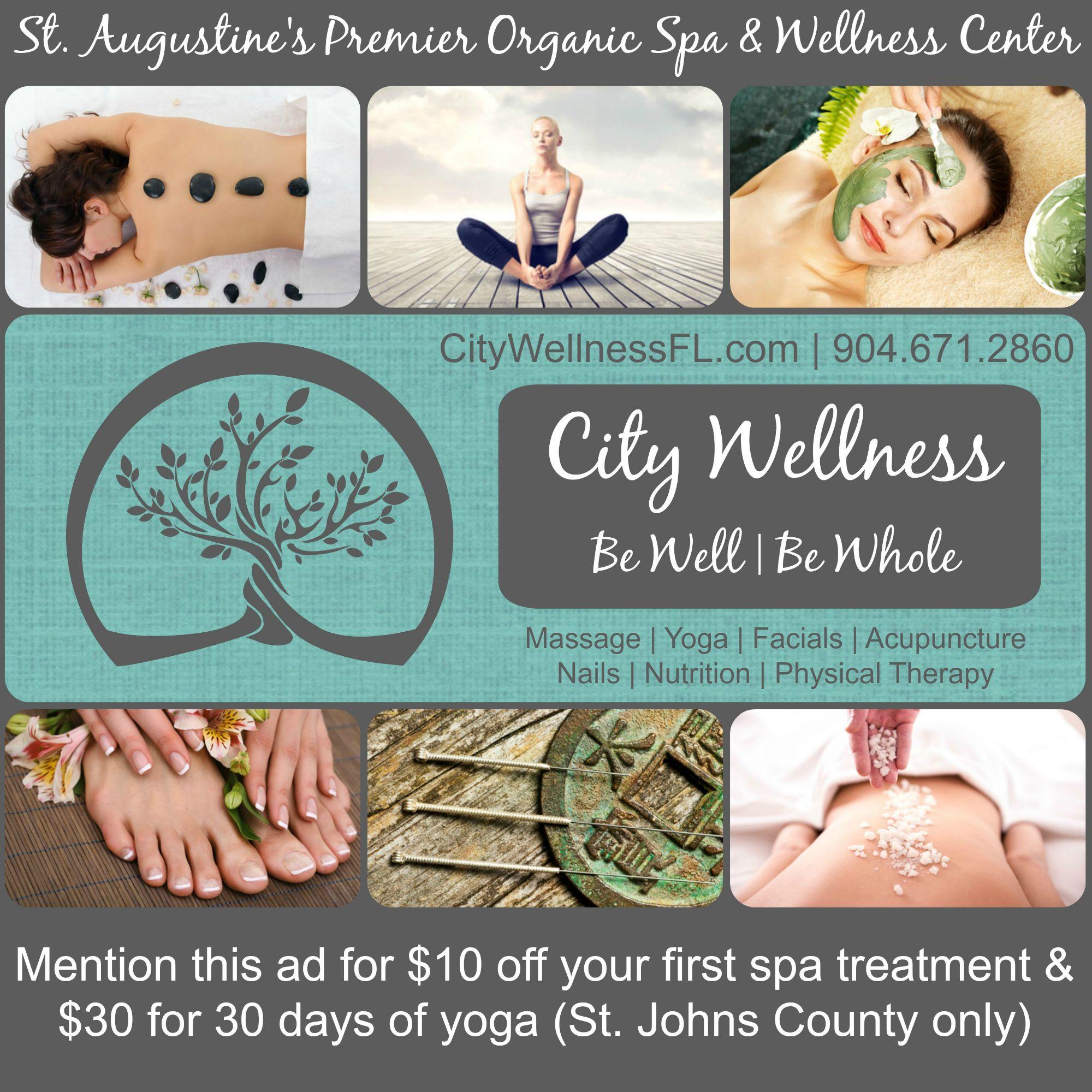 City wellness st augustine wellness spa spa treatments