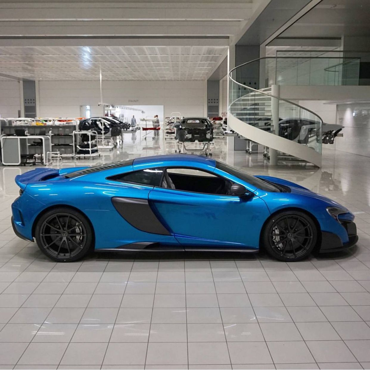 Mclaren 675lt Painted In Cerulean Blue Photo Taken By Shmee150 On Instagram He Also The Owner Of The Car Mclaren Cars Mclaren 675lt Mclaren