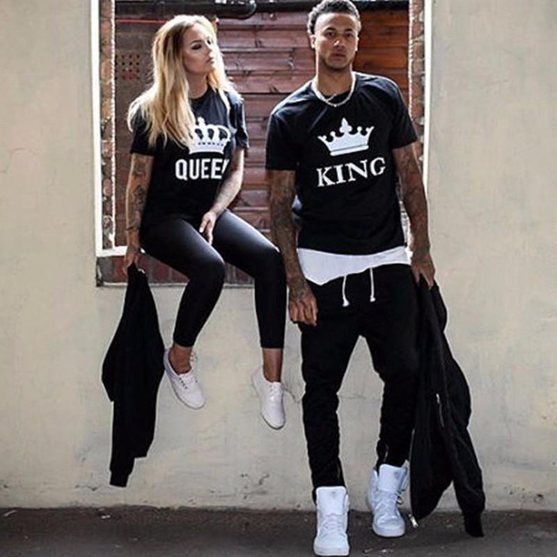 King Queen Couple Shirt Parejas Vestidos Iguales