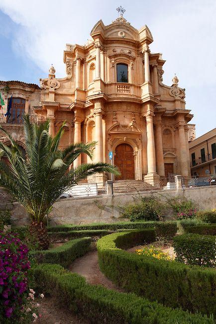 The church of San Domenico - Noto, Sicily, Italy