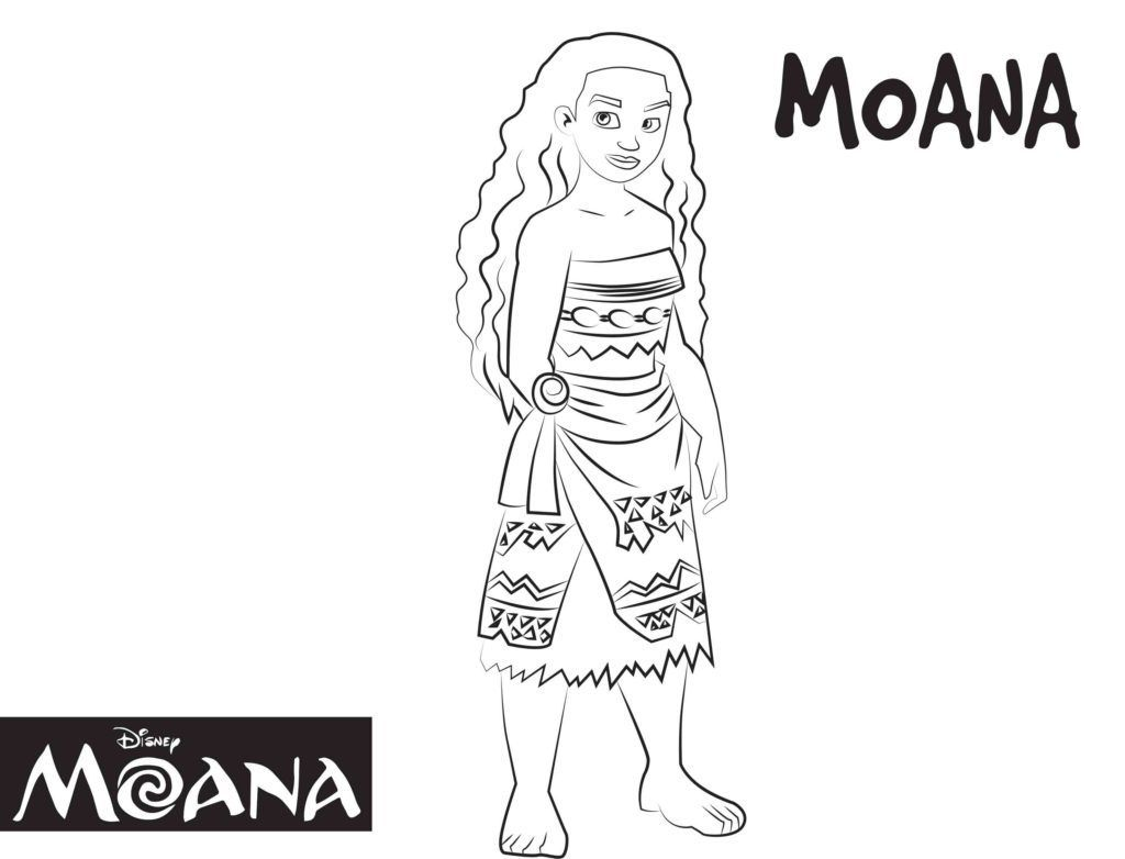 Moana Coloring Pages | Disney Coloring Pages | Pinterest