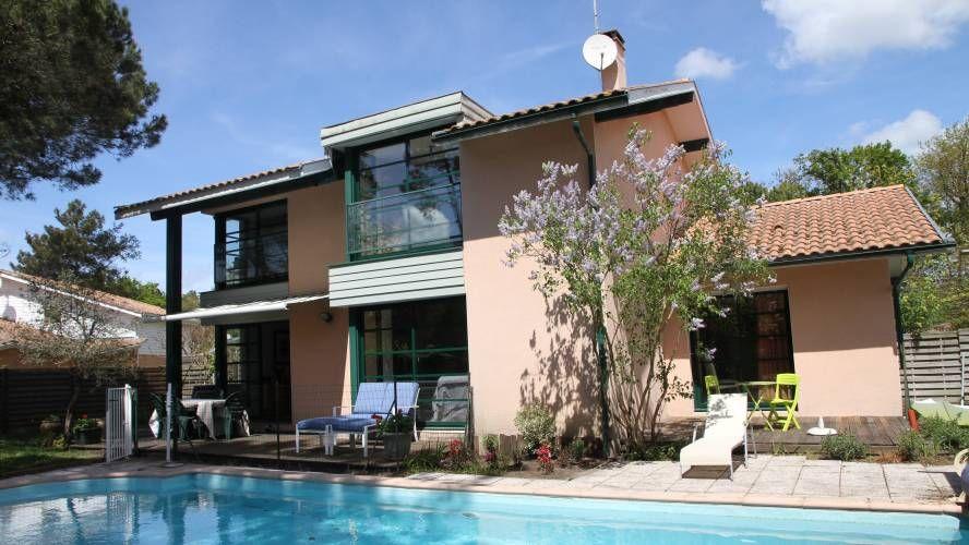 a vendre maison d 39 architecte proche golf hossegor et des plages 40150 c te littoral. Black Bedroom Furniture Sets. Home Design Ideas