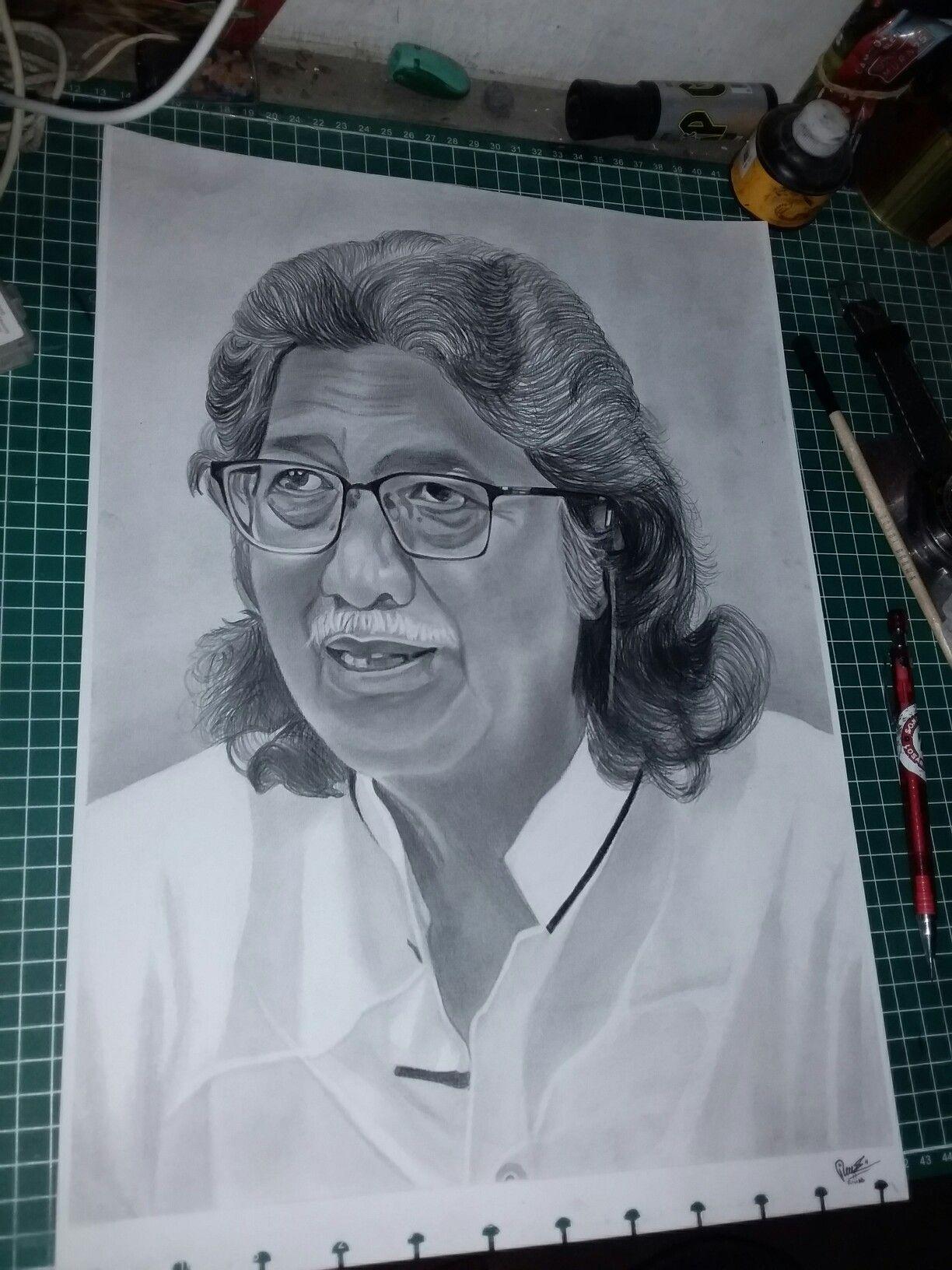 Gambar Ir Soekarno Pake Pensil
