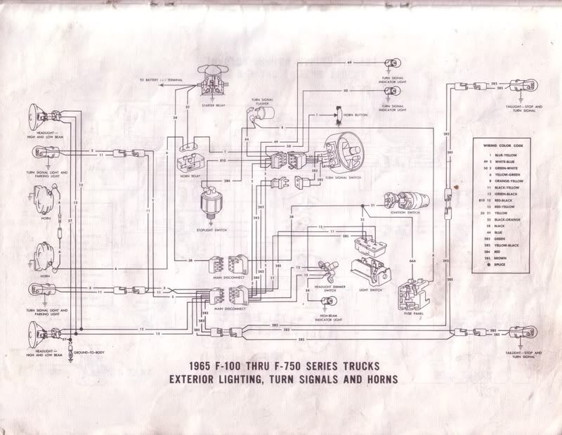 dd6506ac2f7bba774088bed5a4b68f4b 1965 ford f100 wiring diagram 1973 ford truck wiring diagram 1977 ford f100 wiring diagram at n-0.co