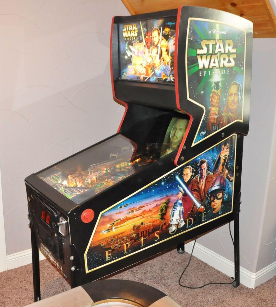 Star Wars Pinball Machine >> Star Wars Episode I Pinball Machine Williams 1999 Pinball 2000