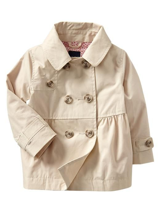 babyGap classic trench coat