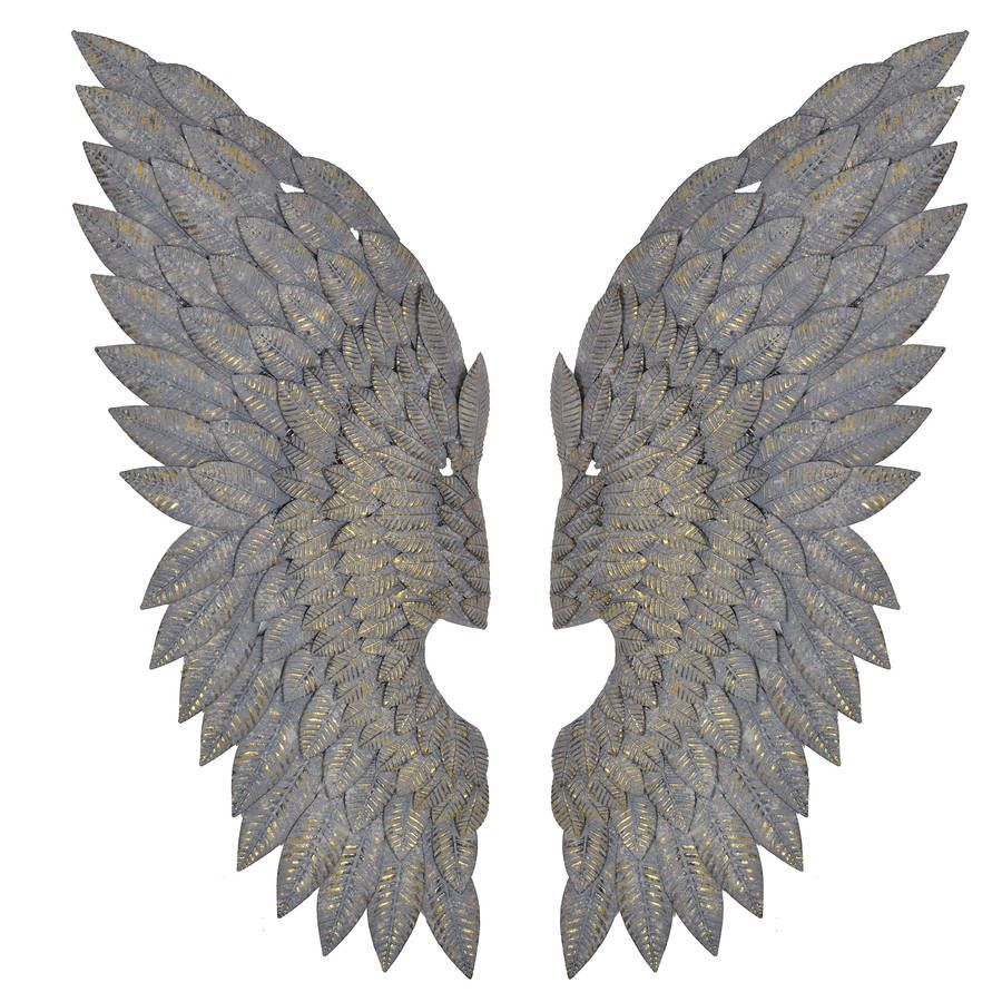 Metal Angel Wings Wall Decor simply divine! our favourite angel wings of all. these stunning