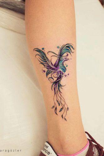 33 erstaunliche phoenix tattooideen mit gr erer bedeutung. Black Bedroom Furniture Sets. Home Design Ideas