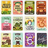 Baby Keepsakes & Baby Announcements The Original Baby Cards By Milestone Set Of 30 Photo Cards
