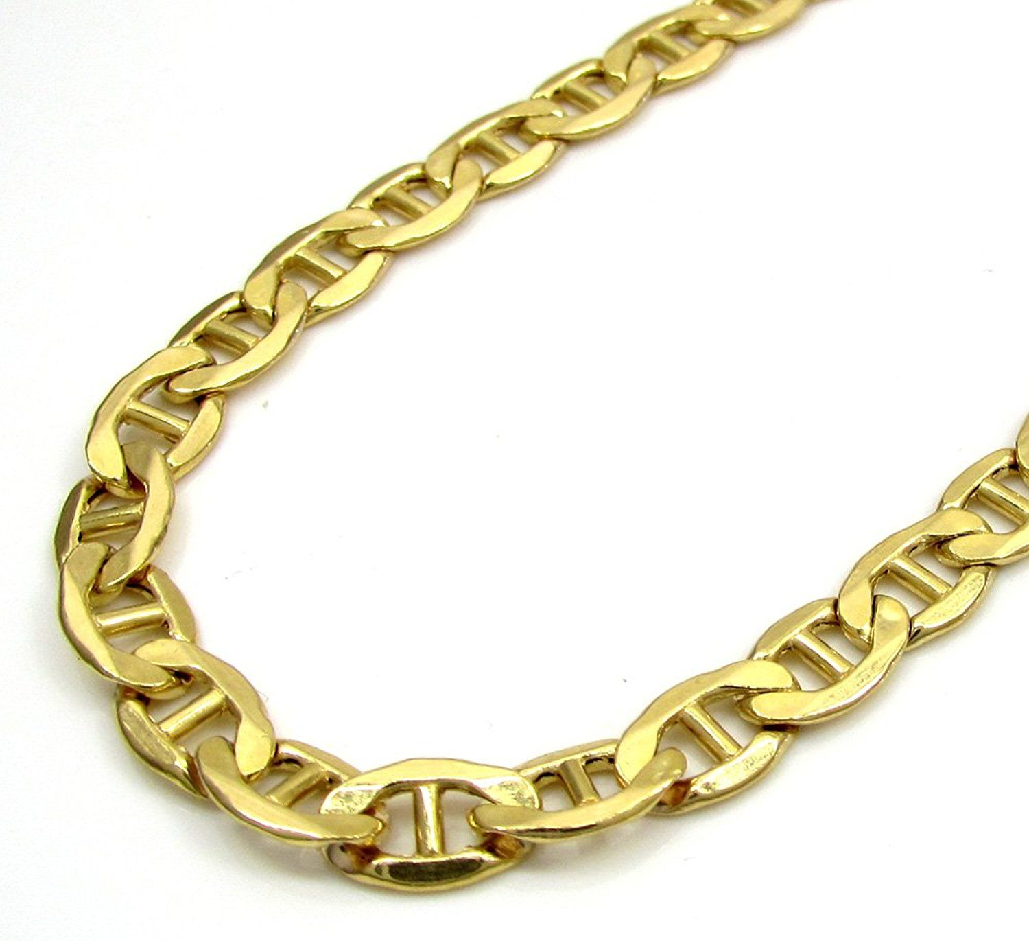 curb diamond chains cut cuban chain gold nck hollow yellow