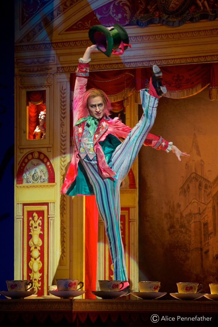 Donald Thom As The Mad Hatter In The Royal Ballet S Alice S