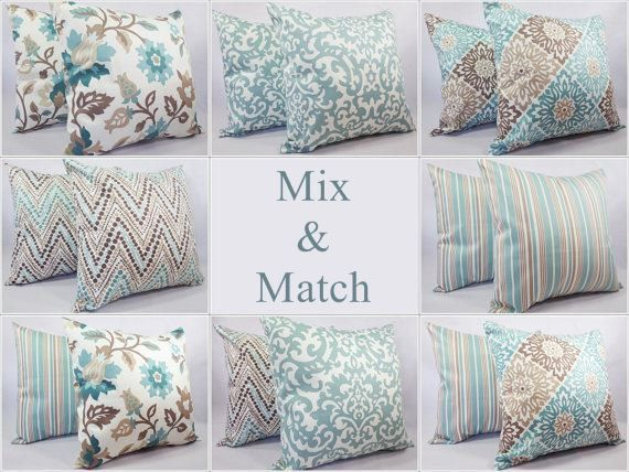 Outdoor Pillow Navy Pillow Cover Blue Throw Pillow