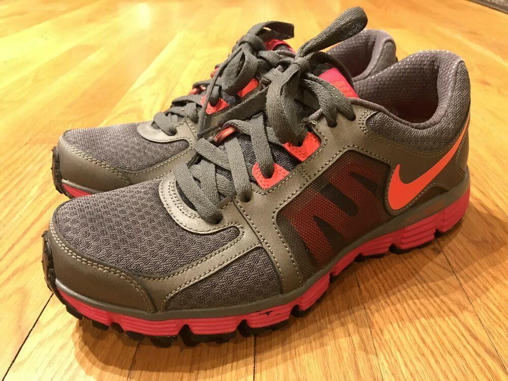 traductor alumno vocal  Nike Dual Fusion ST2 Women's Size 8 Dark Grey Pink Running 454240-066 EUC   Nike  dual fusion, Womens sizes, Running shoes grey