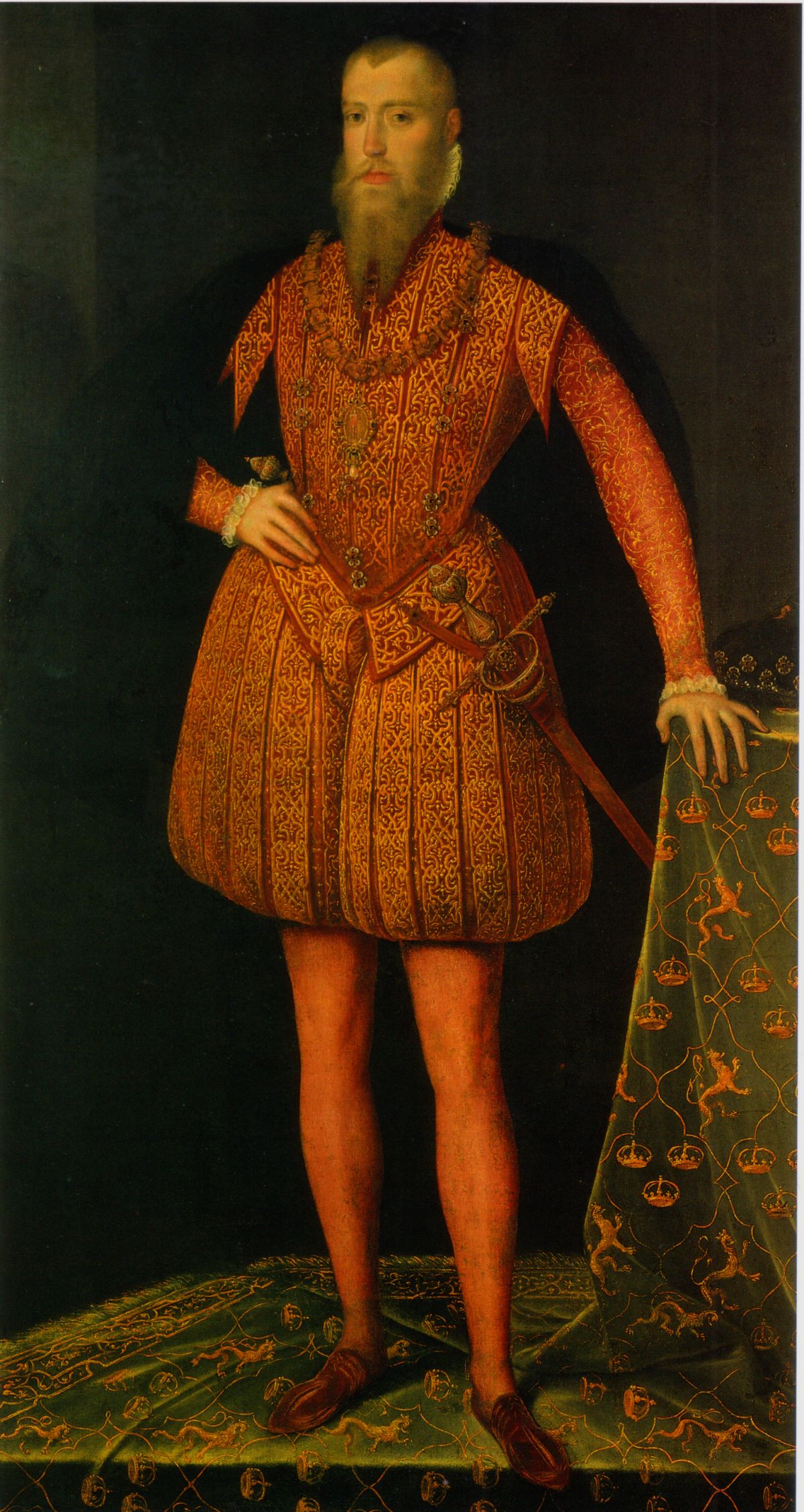 Erik XIV of Sweden by Steven van der Meulen 1561   1500 ...