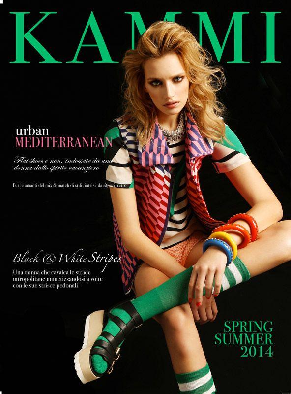 Urban Mediterranean - mix di stili intrisi dal sapore retrò. #scarpe #donna #shoes #retro #style #collection #catalogo #spring #summer #2014