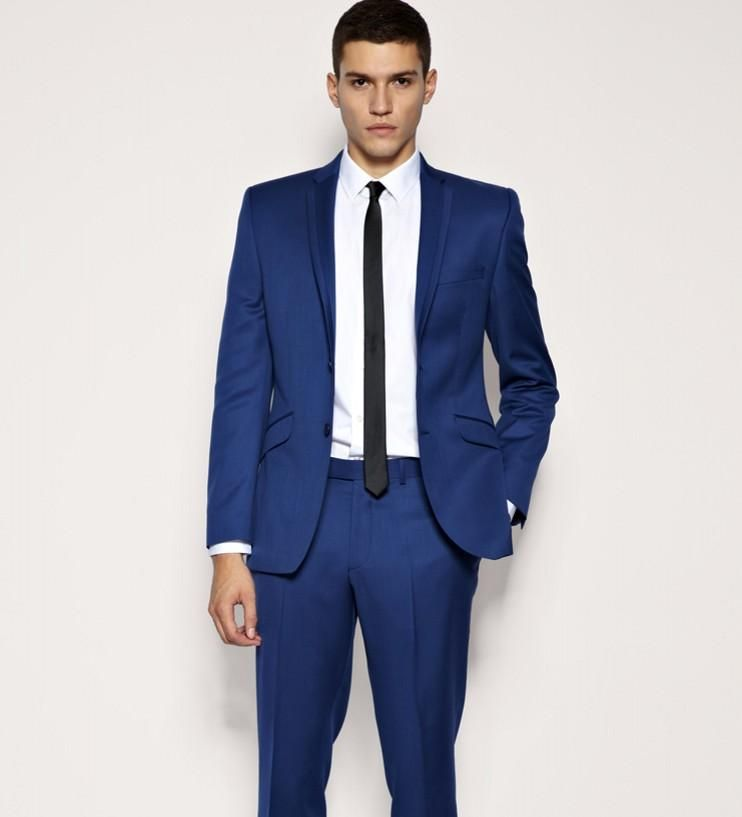 High Quality Men\'s Suits In Blue Colour For Sale - Buy High ...