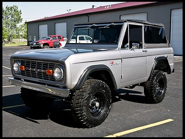1972 Ford Bronco Rotisserie Restoration for sale by Mecum Auction