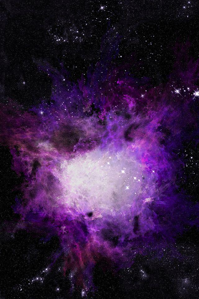 Hd Purple Space Star Iphone 4 Wallpapers Fondos De Pantalla Dragones
