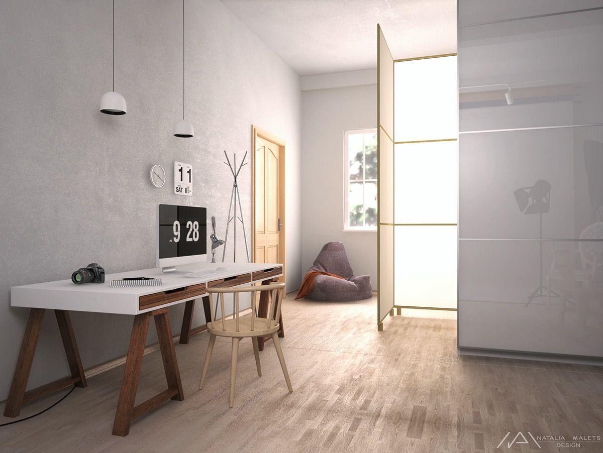 Idées pour agencer et décorer un bureau décoration neutre