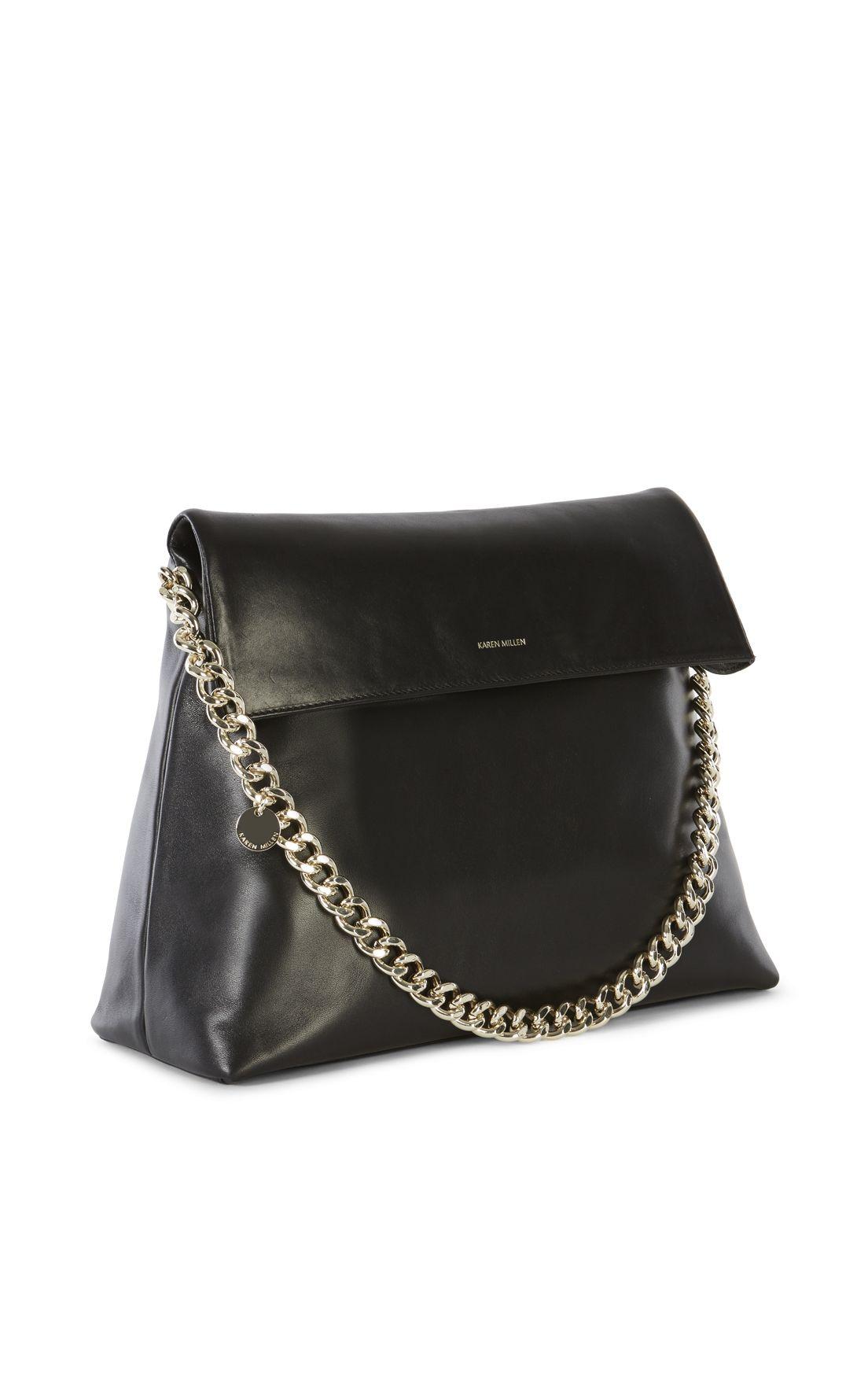 2f302609c18 Karen Millen, OVERSIZED REGENT BAG Black   Zubi bolsos   Bags, Karen ...