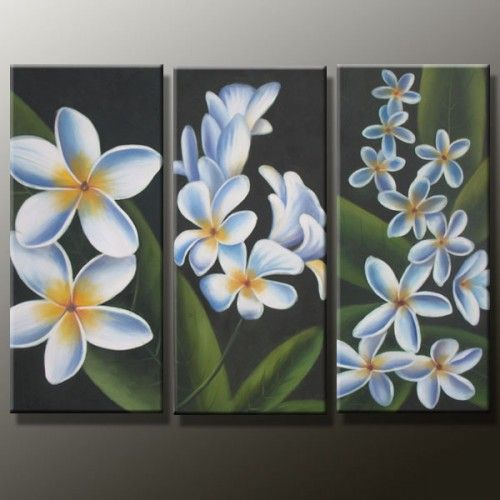 Modern Flower Huge Canvas Oil Painting50 arte Pinterest Cuadro - cuadros para decorar