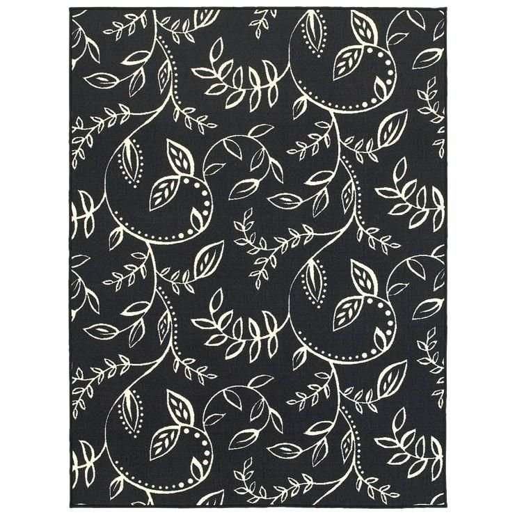 Courageous 5x7 White Rug Images Ideas 5x7 White Rug For E144 Black
