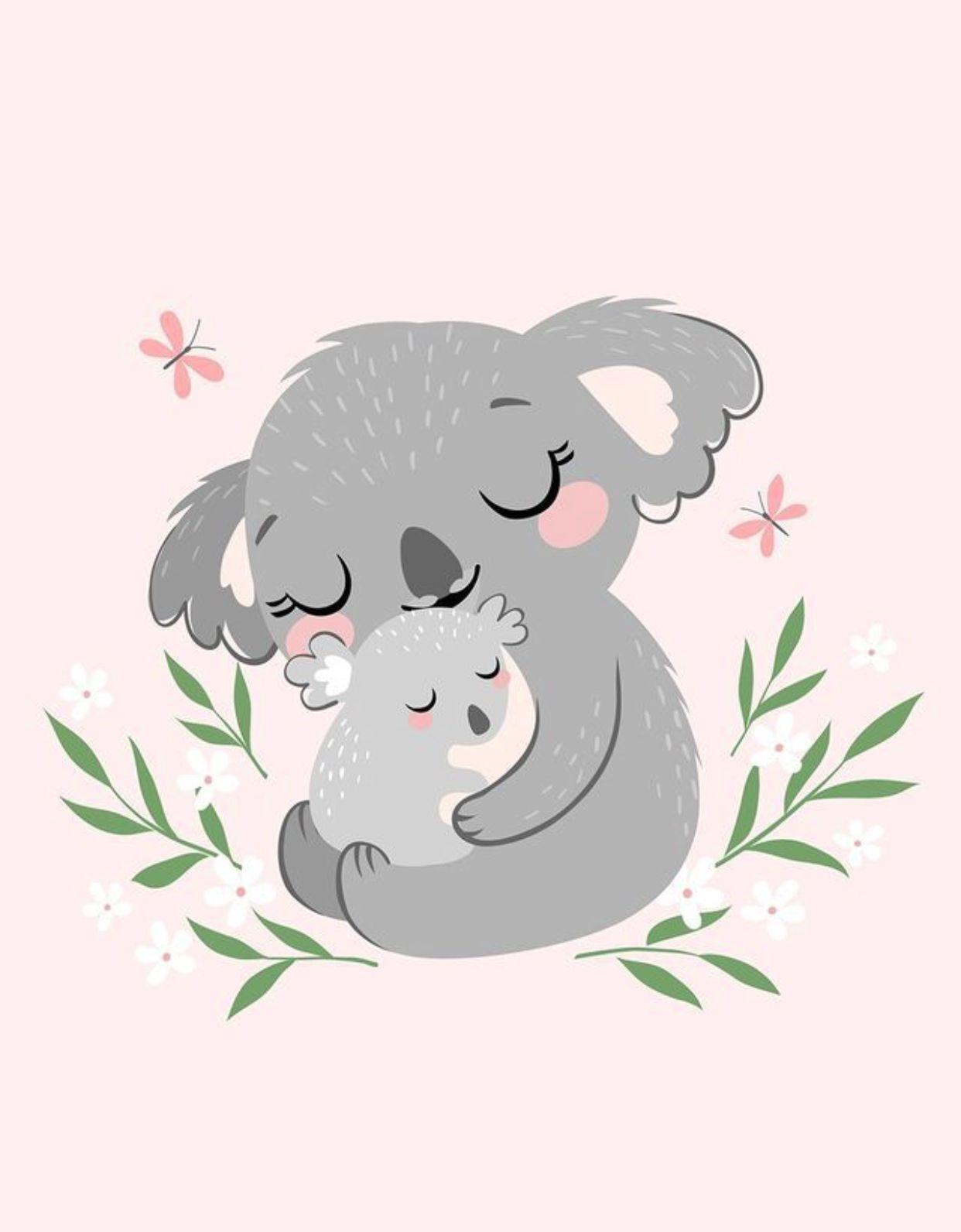 Koalas Dibujos De Animales Tiernos Dibujos Bonitos De Animales Dibujos De Animales Sencillos