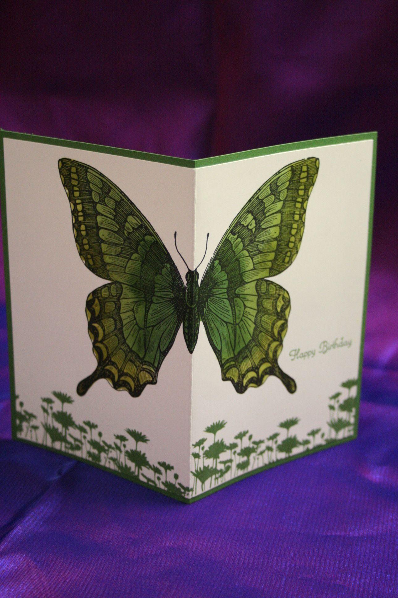 Открытка объемная своими руками с бабочкой, марта