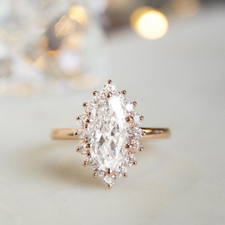 cac1d3d96887f Marquise magic. Link in bio to shop this style | Sunburst Diamond ...