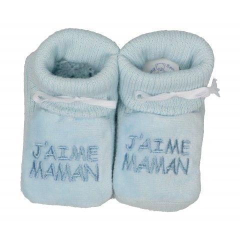Chaussons j'aime Maman