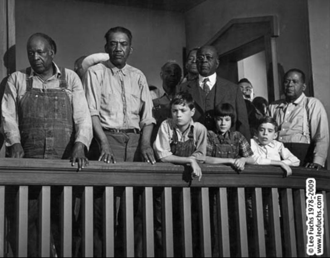 to kill a mockingbird trial of To kill a mockingbird – what was, until recent developments, harper lee's  tom  robinson stands trial in the film version of harper lee's novel.