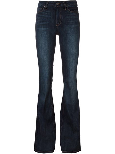 PAIGE classic flared jeans. #paige #cloth #jeans