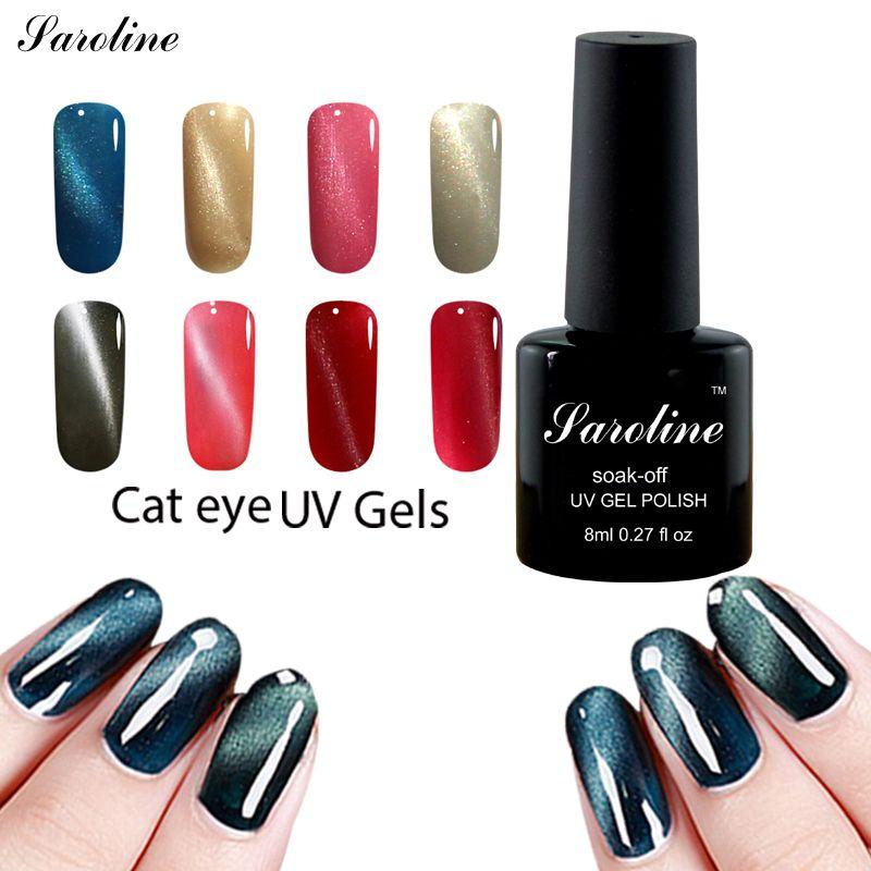 Saroline 8 ml Efecto Ojo de Gato Encantador UV/LED de la lámpara 3D ...