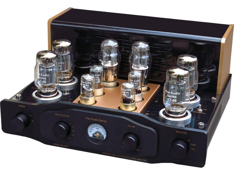 massif en termes de construction et d allure l ampli lampes pier audio ms 88 se propose une