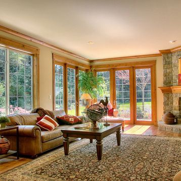 Wood Trim Home Design Ideas, Pictures, Remodel and Decor