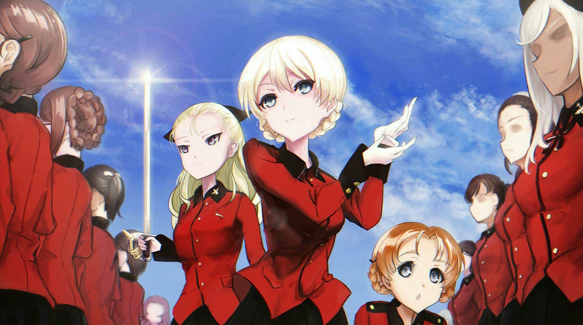 Girls Und Panzer ダージリン 女学院