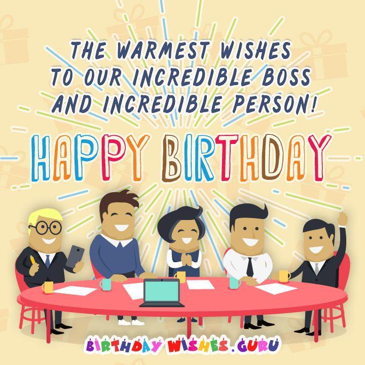 Birthday Wishes For Boss, Happy Birthday Wishes
