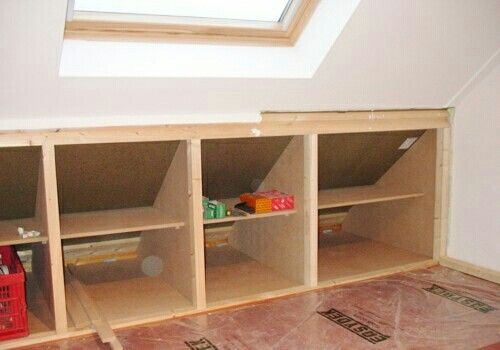 Best Pin By Lepetitmenage On House Ideas Attic Storage 400 x 300