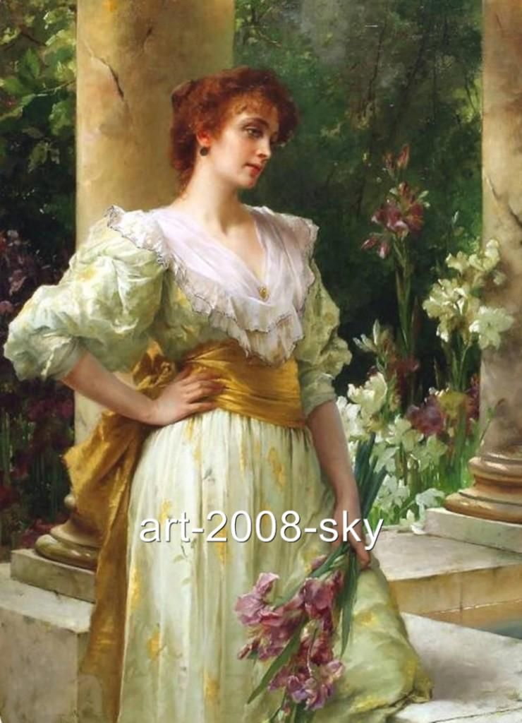 Vintage Paintings Of Women Famous Oil Paintings o...
